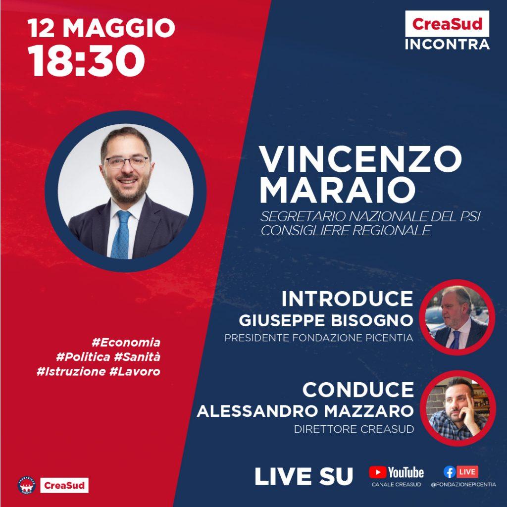 CreaSud Incontra - Vincenzo Maraio, con Alessandro Mazzaro e Giuseppe Bisogno, presidente Fondazione Picentia