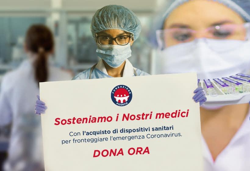 coronavirus raccolta fondi