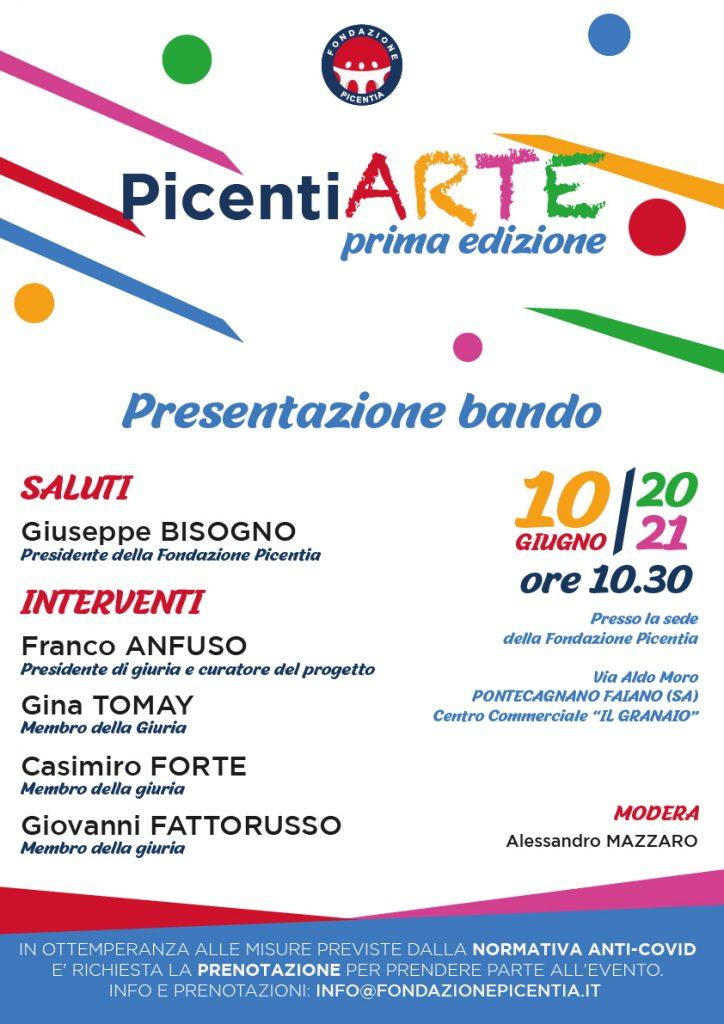 LOCANDINA PicentiARTE - Fondazione Picentia